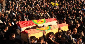 PKK Yöneticisini Tabuta Koyup Kaçırmak İstediler!