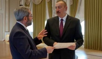 Azerbaycan Cumhurbaşkanı'ndan Adana Milletvekili Ünüvar'a 'Dostluk' Nişanı
