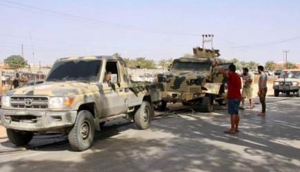 Libya Ordusu Vişke Beldesini Ele Geçirdi