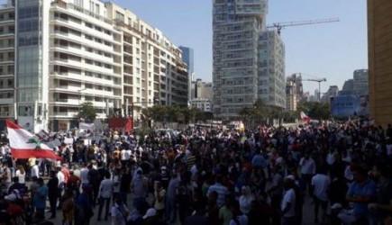 Lübnan Halkı Teröristlerle Çatışmaya Başladı