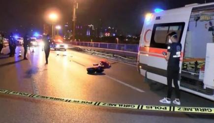 Sarıyer'de Motosiklet Kazası! Sürücü Hayatını Kaybetti