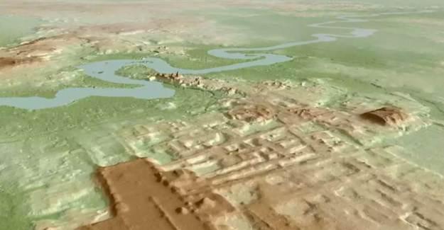 3 Bin Yıllık Maya Tapınağı Bulundu