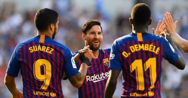Barcelona, Yıldız Oyuncuyu Gönderiyor