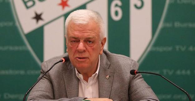 Bursaspor Başkanı Ali Ay Müjdeyi Verdi!