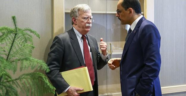 Cumhurbaşkanlığı Sözcüsü İbrahim Kalın John Bolton ile Telefonda Görüştü