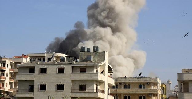 İdlib'de Doğum Hastanesi Bombalandı