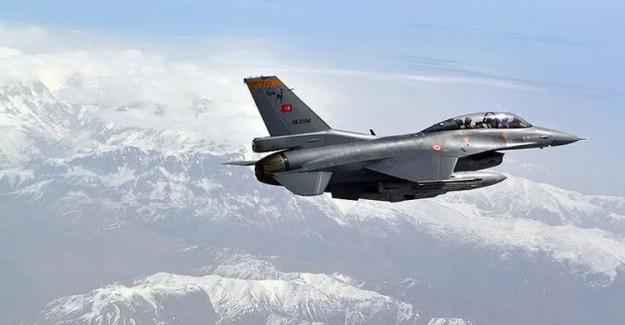Irak'ın Kuzeyine Yapılan Hava Harekatında 3 Terörist Etkisiz Hale Getirildi