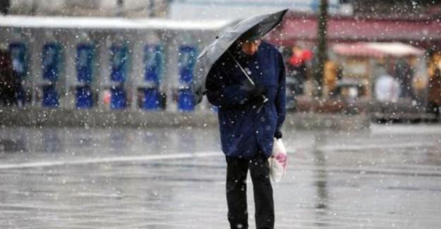 Meteoroloji İstanbul İçin Kuvvetli Yağış Uyarısında Bulundu