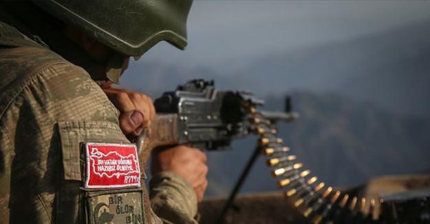 MSB: Irak'ın Hakurk Bölgesinde PKK'lı 5 Terörist Ekisiz Hale Getirildi