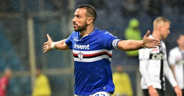 Sampdoria, Kaptan Quagliarella ile Sözleşme Yeniledi!