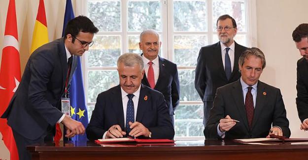 Türkiye ile İspanya Arasındaki Ticari İlişkiler Gelişiyor! 2 Anlaşma Daha İmzalandı