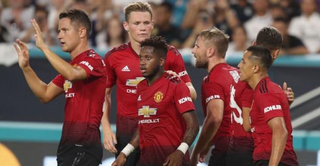United, Madrid'in Fişini İlk Yarıda Çekti!