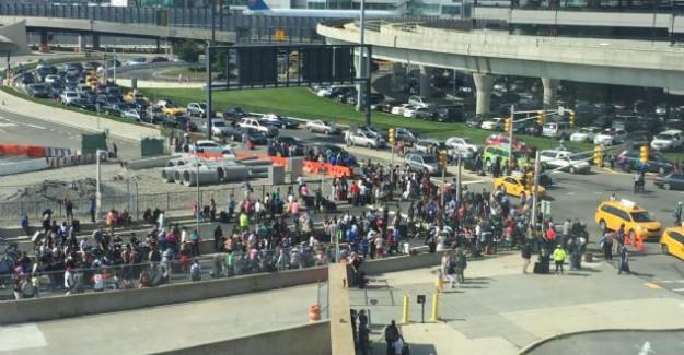 ABD'de Terör Alarmı! Havalimanı Boşaltıldı!