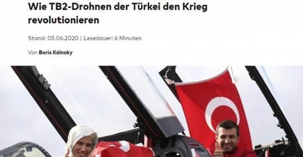 Alman Die Welt'ten Türk SİHA'larına Büyük Övgü