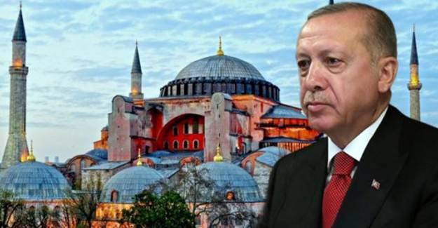 Cumhurbaşkanı Erdoğan'dan Ayasofya Yorumu: Aziz Milletimiz Karar Verir