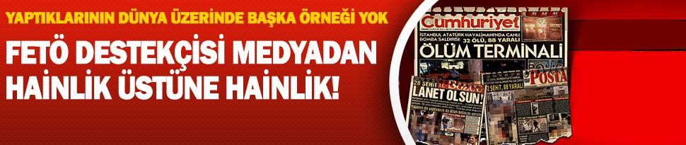 Cumhuriyet Gazetesi'nin Son Alçaklığı!