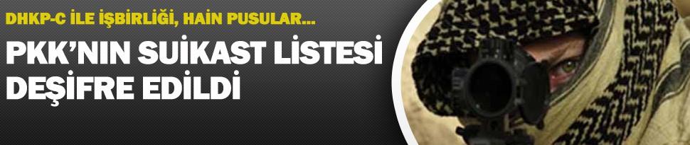PKK'nın Suikast Listesinde Bakın Kimler Var