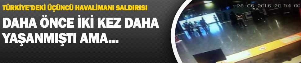 Türkiye'deki Üçüncü Havalimanı Saldırısı
