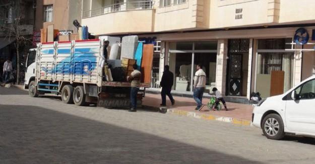 Nusaybin'de Büyük Göç Başladı, Halk İlçeden Kaçıyor