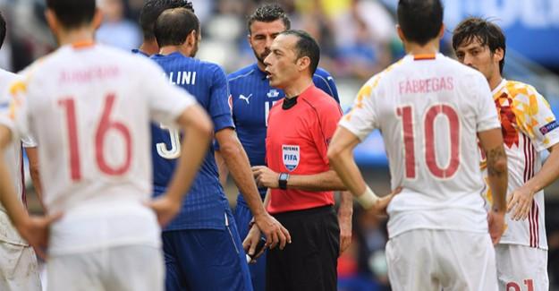 UEFA'dan Flaş Cüneyt Çakır Kararı